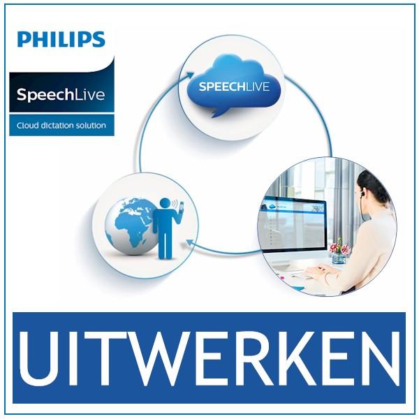 SpeechLive - Cloud Dicteren en Uitwerken - Bij AVT Beneleux - de expert - Uitwerkmodule